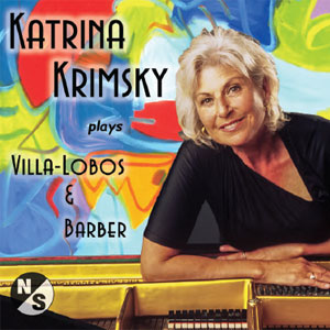 Katrina Krimsky Plays Barber and Villa-Lobos